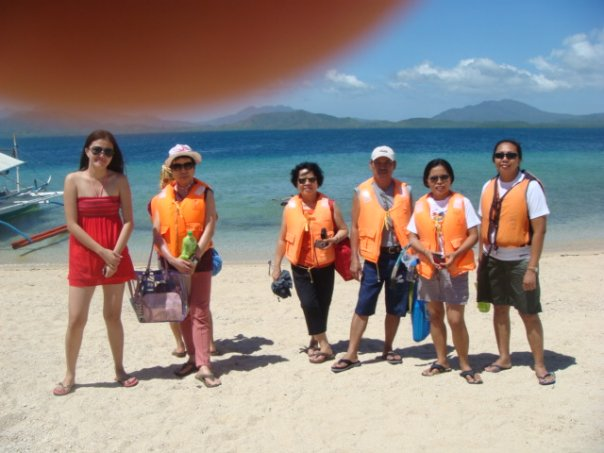 With my Honda Bay boat group
